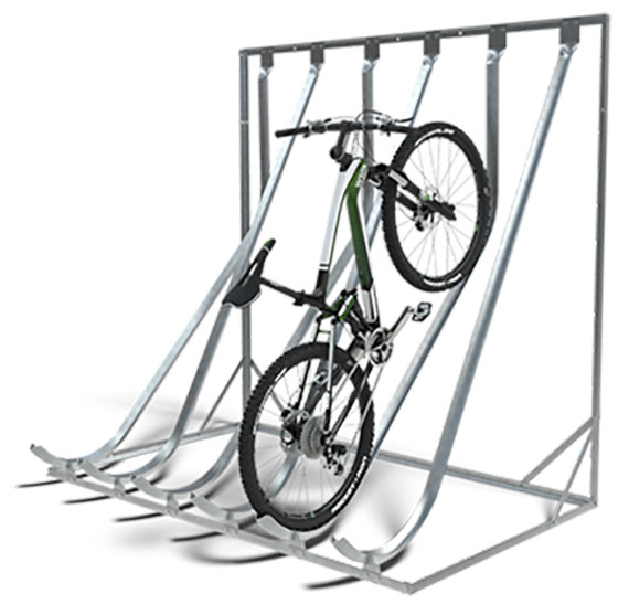 Vertical Bike Rack Large Preview Of 3d Model Of Doubleup