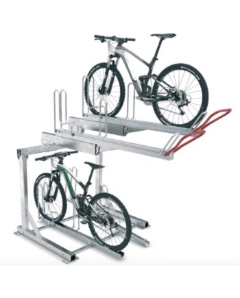 2 tier easy-park bike rack